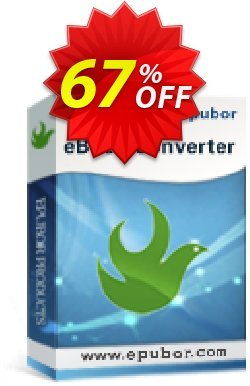 Epubor eBook Converter Coupon, discount Epubor eBook Converter for Win dreaded sales code 2019. Promotion: Epubor Ebook Software discount code