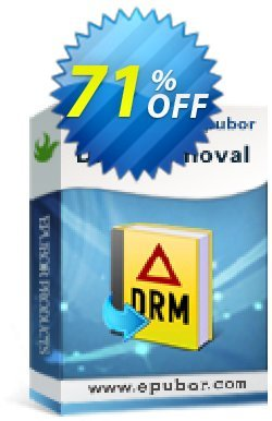 Epubor All DRM Removal Coupon discount Any DRM Removal for Win amazing offer code 2021 - wonderful deals code of Any DRM Removal for Win 2021