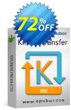 Kindle Transfer for Mac Coupon discount Kindle Transfer for Mac awesome sales code 2020 - exclusive promotions code of Kindle Transfer for Mac 2020