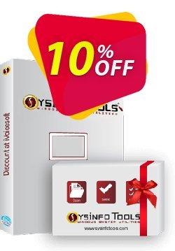 SysInfoTools PDF Split Coupon discount SYSINFODISCOUNT. Promotion: Coupon code for SysInfo tools software