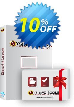 SysInfoTools PST to PDF Converter Coupon, discount SYSINFODISCOUNT. Promotion: