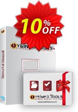 SysInfoTools Windows Data Recovery[Administrator License] Coupon, discount Promotion code SysInfoTools Windows Data Recovery[Administrator License]. Promotion: Offer SysInfoTools Windows Data Recovery[Administrator License] special discount for iVoicesoft