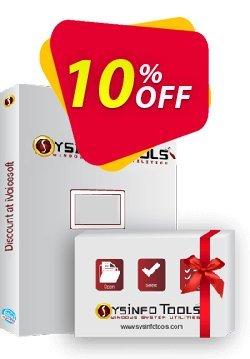 SysInfoTools Backup Exec BKF Repair Coupon discount SYSINFODISCOUNT - Coupon code for SysInfo tools software