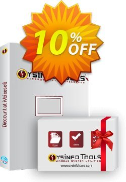 SysInfoTools NTFS Recovery Coupon, discount SYSINFODISCOUNT. Promotion: SYSINFO TOOLS coupon discount (36703)