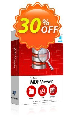 SysTools MDF Viewer Pro - Corporate License  Coupon discount SysTools coupon 36906 - SysTools promotion codes 36906