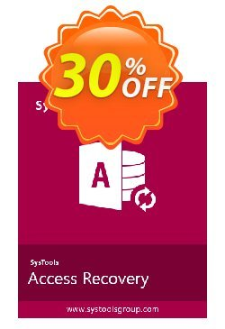SysTools Access Recovery Coupon discount SysTools Summer Sale -