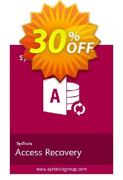 SysTools Access Recovery  - Business License  Coupon discount SysTools coupon 36906. Promotion: