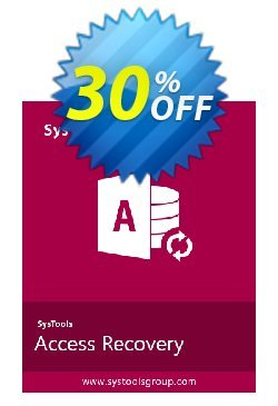 Access Recovery - Enterprise License Coupon, discount SysTools coupon 36906. Promotion: