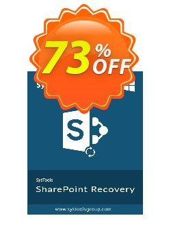 SysTools Sharepoint Recovery Coupon discount SysTools coupon 36906 -