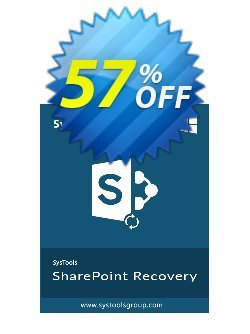 SysTools Sharepoint Recovery - Business  Coupon discount SysTools coupon 36906. Promotion: