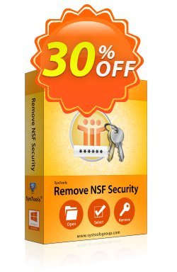 Securase - Personal License Coupon, discount SysTools coupon 36906. Promotion:
