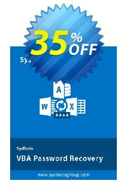 SysTools VBA Password Remover Coupon, discount SysTools Summer Sale. Promotion: