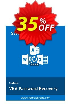 SysTools VBA Password Recovery Coupon discount 30% OFF SysTools VBA Password Recovery, verified - Awful sales code of SysTools VBA Password Recovery, tested & approved