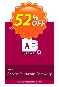 SysTools Access Password Recovery Coupon discount SysTools Summer Sale -