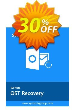 SysTools OST Recovery - Technician License  Coupon discount SysTools coupon 36906 -