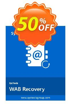 SysTools WAB Recovery - Business  Coupon discount SysTools coupon 36906. Promotion: