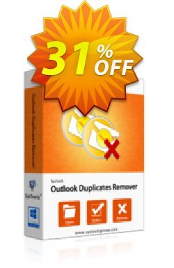Outlook Duplicates Remover - Personal License Coupon, discount SysTools coupon 36906. Promotion: