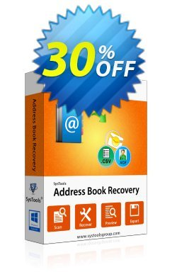 Address Book Recovery - Business License Coupon, discount SysTools coupon 36906. Promotion: