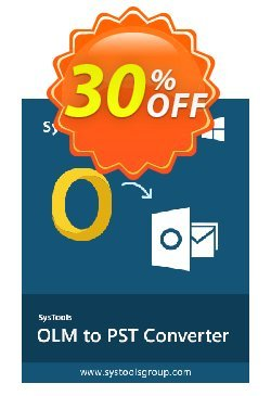 Outlook Mac Exporter - Personal License Coupon, discount SysTools coupon 36906. Promotion: