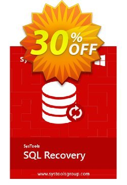 SysTools SQL Recovery - Technician License  Coupon discount SysTools coupon 36906 -
