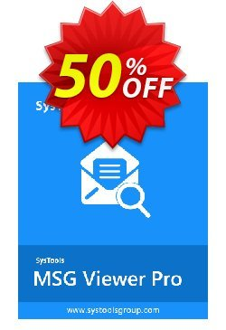 SysTools MSG Viewer Pro Plus Coupon discount SysTools Summer Sale - dreaded promotions code of SysTools MSG Viewer Pro Plus 2020
