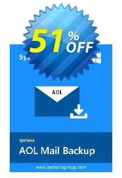 SysTools AOL Backup - Single User Coupon discount SysTools Summer Sale - special deals code of SysTools AOL Backup - Single User 2020