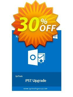 SysTools PST Upgrade Coupon discount SysTools Summer Sale -