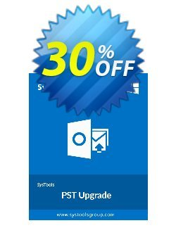 SysTools PST Upgrade Coupon discount SysTools Summer Sale. Promotion: