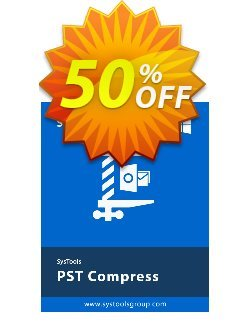 SysTools PST Compress Coupon, discount SysTools coupon 36906. Promotion: