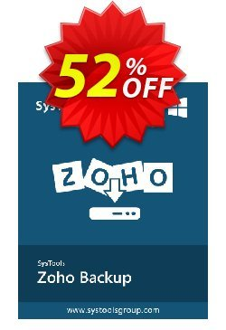 SysTools ZOHO Backup Coupon, discount BitsDuJour Daily Deal. Promotion: marvelous discounts code of SysTools ZOHO Backup 2020