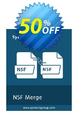 SysTools NSF Merge Coupon discount SysTools Summer Sale. Promotion: wondrous promo code of SysTools NSF Merge 2021