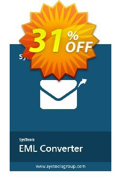 SysTools MAC EML Converter Coupon discount SysTools Spring Sale. Promotion: excellent offer code of SysTools MAC EML Converter 2020