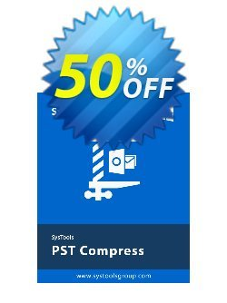SysTools PST Compress - Enterprise  Coupon discount SysTools coupon 36906 -