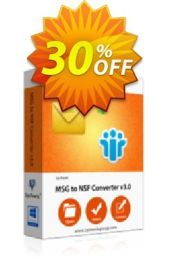 SysTools MSG to NSF Converter Coupon discount SysTools Summer Sale. Promotion: big promotions code of SysTools MSG to NSF Converter 2020