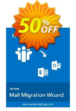 SysTools Mail Migration Wizard Coupon, discount SysTools Summer Sale. Promotion: amazing discounts code of SysTools Mail Migration Wizard 2021