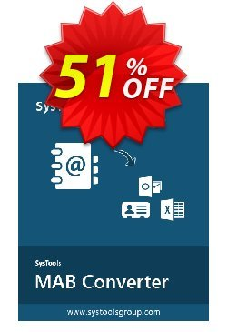 SysTools Thunderbird Address Book Converter Coupon discount SysTools Summer Sale. Promotion: hottest promotions code of SysTools Thunderbird Address Book Converter 2020