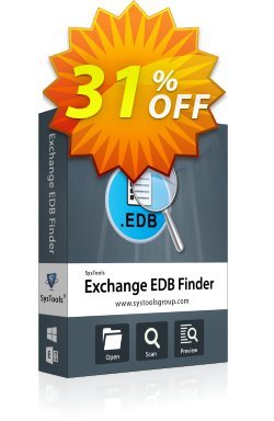 SysTools EDB Finder Coupon discount SysTools Summer Sale - stunning discount code of SysTools EDB Finder 2020