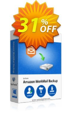 SysTools WorkMail Backup Coupon discount SysTools Summer Sale. Promotion: impressive discounts code of SysTools WorkMail Backup 2020