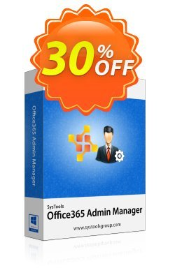 SysTools Office365 Admin Manager - Site License  Coupon discount SysTools Summer Sale - special discounts code of SysTools Office 365 Admin Manager - Site License 2019