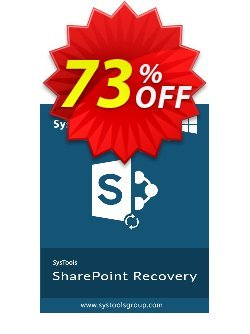 SharePoint Recovery - Personal License  Coupon discount SysTools Summer Sale. Promotion: awful offer code of SysTools Sharepoint Recovery 2020