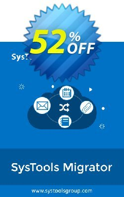 SysTools Migrator - G Suite to G Suite Migration  Coupon discount 50% OFF SysTools Migrator (G Suite to G Suite Migration), verified - Awful sales code of SysTools Migrator (G Suite to G Suite Migration), tested & approved
