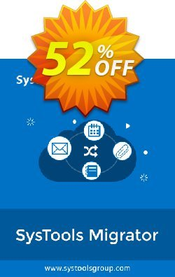 SysTools Migrator - Lotus Notes to Office 365  Coupon discount 50% OFF SysTools Migrator (Lotus Notes to Office 365), verified - Awful sales code of SysTools Migrator (Lotus Notes to Office 365), tested & approved