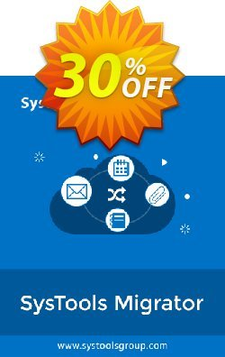 SysTools Migrator Advanced Coupon discount SysTools Spring Offer - impressive promo code of SysTools Migrator (G Suite) + Managed Services 2021