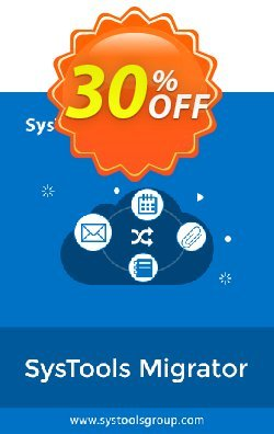 SysTools Migrator - G Suite + Managed Services + Infrastructure Coupon discount Weekend Offer. Promotion: wonderful sales code of SysTools Migrator (G Suite) + Managed Services + Infrastructure 2020