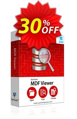 SysTools MDF Viewer Pro Coupon discount SysTools MDF Viewer Pro special promotions code 2020. Promotion: special promotions code of SysTools MDF Viewer Pro 2020