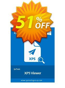 SysTools XPS Viewer Pro Coupon discount SysTools Summer Sale - super promo code of SysTools XPS Viewer Pro 2019