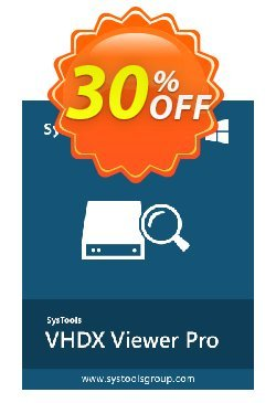 SysTools VHDX Viewer Pro Coupon discount SysTools Summer Sale - staggering discount code of SysTools VHDX Viewer Pro 2019