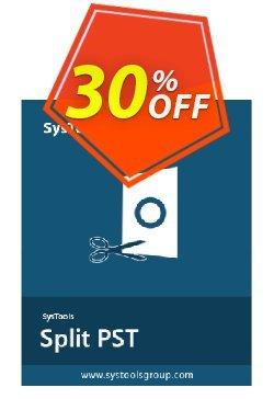 Split PST - Enterprise License Coupon, discount SysTools coupon 36906. Promotion: