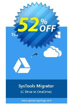 SysTools G Drive to OneDrive Migrator Coupon discount SysTools Summer Sale - dreaded discount code of SysTools G Drive to OneDrive Migrator 2020