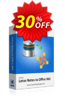 SysTools Mail Migration Office365 - 5 User Licenses  Coupon discount SysTools Summer Sale - exclusive sales code of SysTools Lotus Notes to Office 365 - 5 User License 2019